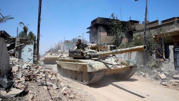 Irak ordusu Musul merkezine doğru saldırıya geçti