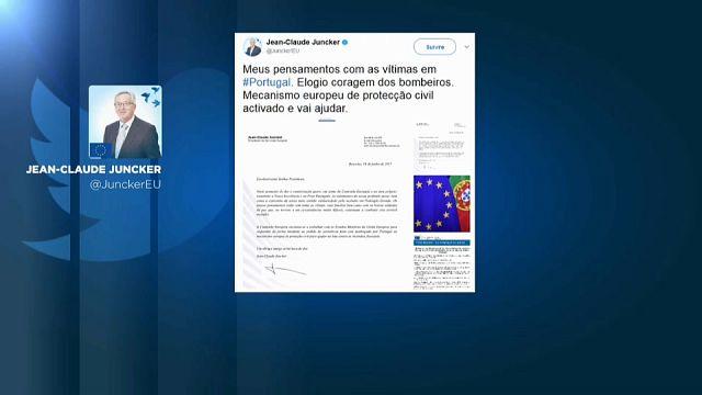 Mensajes de solidaridad con Portugal desde todo el mundo