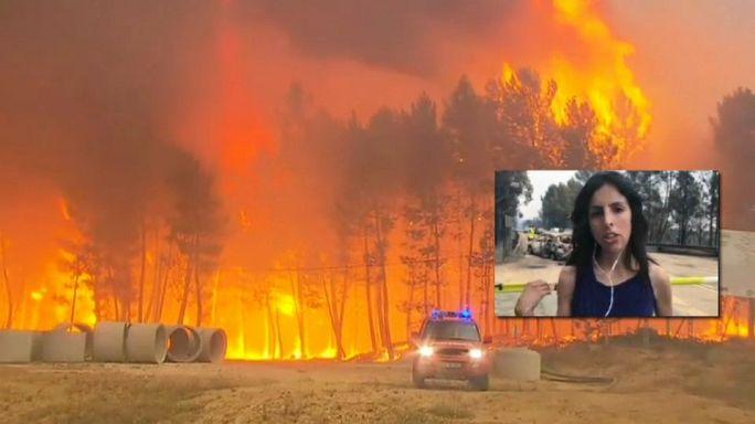 Portugal: Situation im Waldbrandgebiet immer noch schwierig