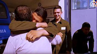 Üçüz askerlerin babasına 'Babalar Günü' sürprizi