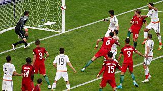 Taça das Confederações: Portugal abre com empate frente ao México