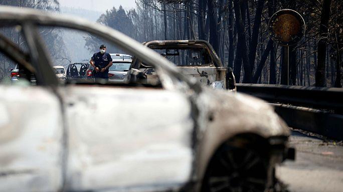 Portugal mobiliza-se na ajuda aos sinistrados do incêndio de Pedrógão Grande