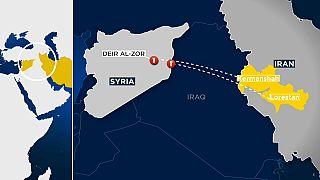 Irão ataca Daesh no leste da Síria