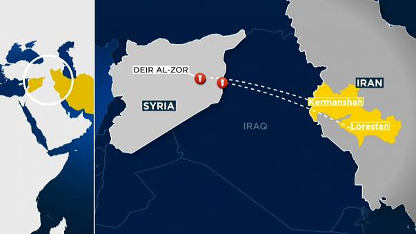 Iran fires missiles at ISIL base in Syria