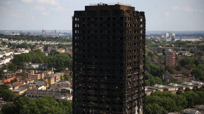 Londra yangınında hedef hükümet