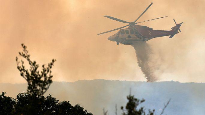 Erdőtűz Kaliforniában