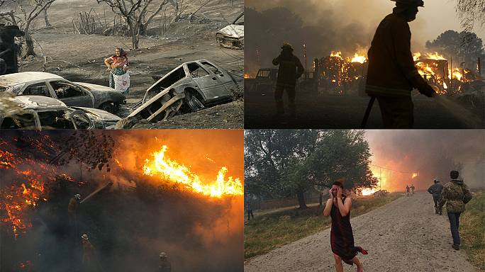 The world's deadliest wildfires