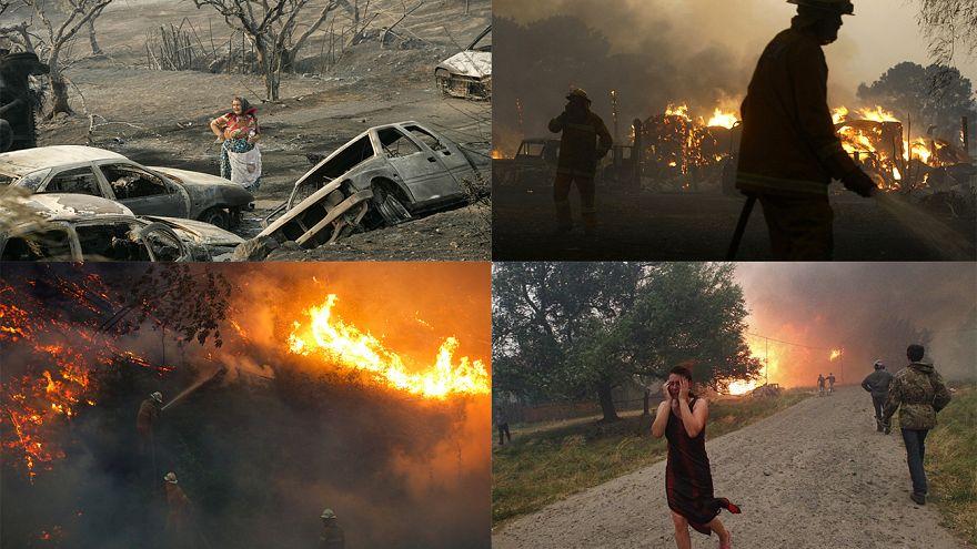 Die schlimmsten Brände weltweit im Überblick