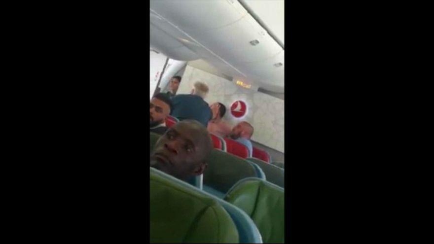 فریادهای پناهجوی افغان در هواپیما