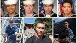 US Navy names seven sailors killed in USS Fitzgerald collision