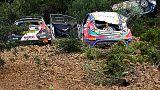 Ράλι Κύπρος: Τρία αυτοκίνητα έπεσαν στον ίδιο γκρεμό  -BINTEO
