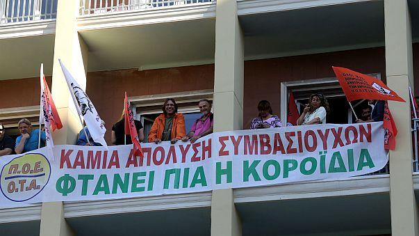 Έληξε η κατάληψη στο υπουργείο Εσωτερικών από εργαζομένους στους δήμους