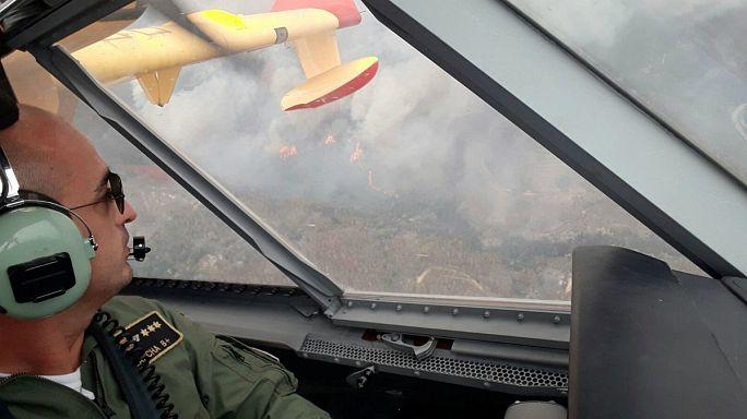 """La situación del incendio en Portugal es """"preocupante"""""""