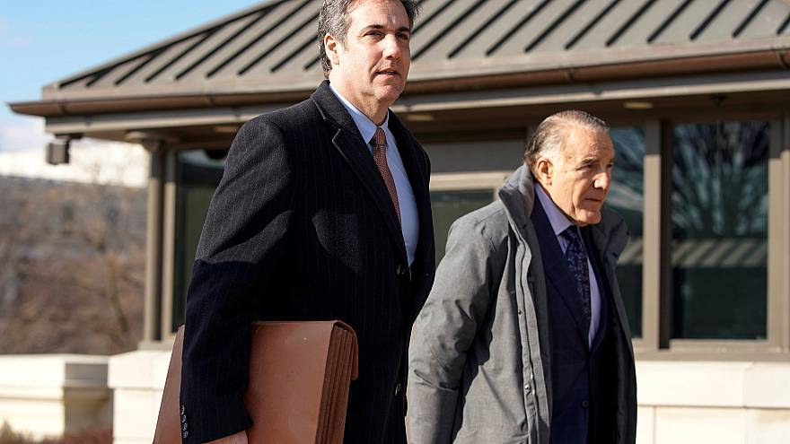 Image: Michael Cohen, the former personal attorney of U.S. President Donald