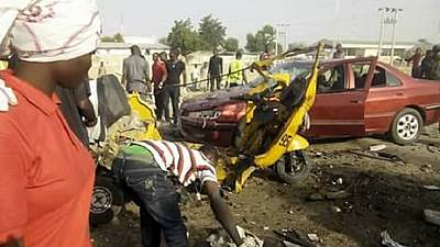 Female suicide bombers kill 12, wound others in Nigeria's Borno state: police