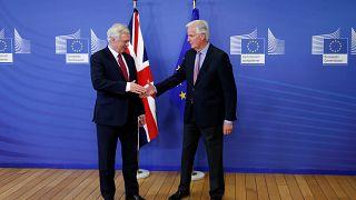 Auftakt der Brexit-Verhandlungen in Brüssel