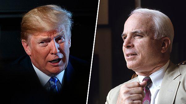 Image: Donald Trump, John McCain