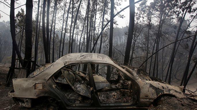 Portugal : le feu fait toujours rage