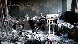 تصاویر درون برج سوخته گرنفل