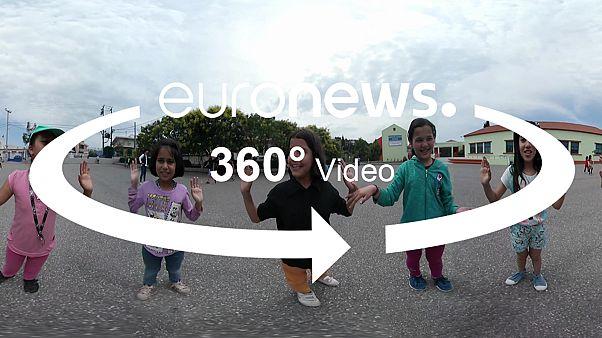 برنامج لدعم تعليم للاطفال اللاجئين في اليونان