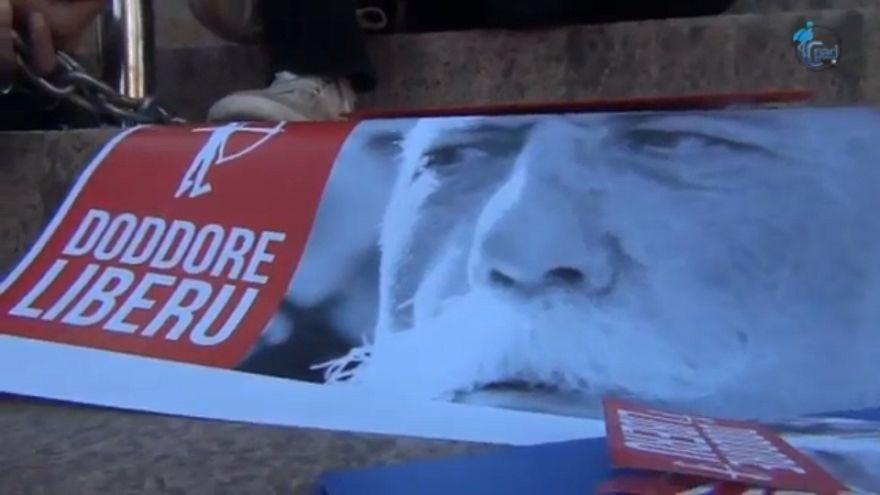 Sciopero della fame in carcere dell'indipendentista sardo Doddore Meloni
