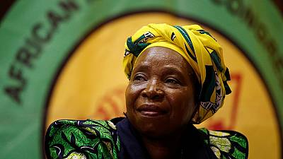 Dlamini-Zuma accepts nomination to lead South Africa's ruling ANC