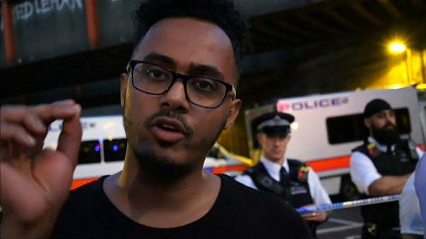 """شاهد : داهس المصلين قرب مسجد لندن:""""أريد قتل جميع المسلمين"""""""