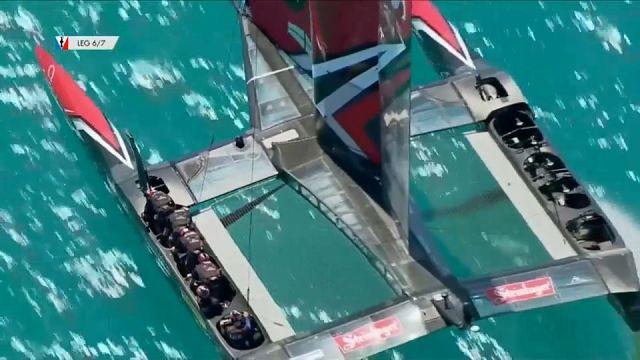 El 'Team New Zealand' sigue intratable contra el 'Oracle'