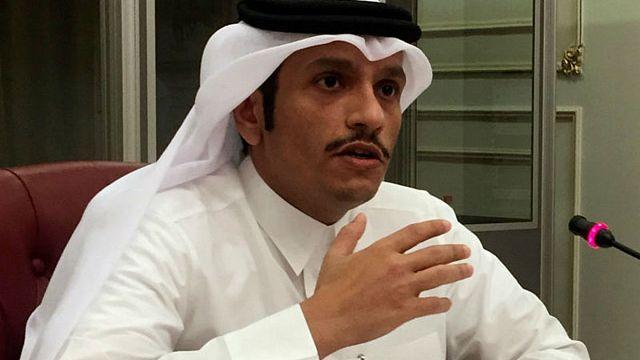 وزير الخارجية القطري:لا تفاوض بوجود الحصار