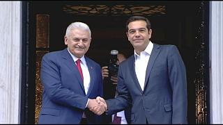 Başbakan Yıldırım Yunan Başbakan Çipras'la biraraya geldi