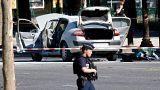 Нападение на полицию на Елисейских полях