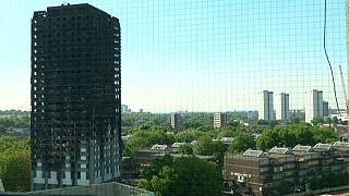 Poignant public support for Grenfell Tower victims