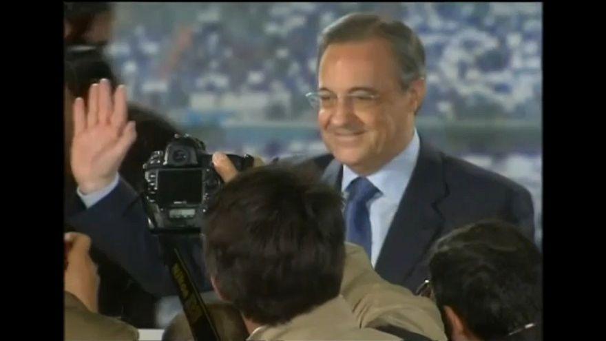 Florentino Pérez inicia su quinto mandato con el asunto CR7 sobre la mesa