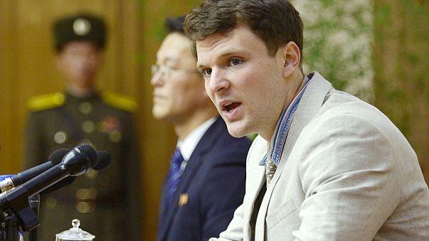 Mort de l'étudiant américain libéré par Pyongyang