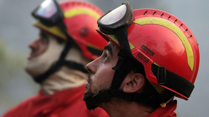 В Португалии не утихают лесные пожары