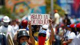 Un muerto por disparos en las protestas de Caracas