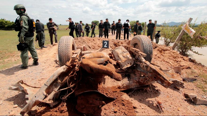 Hat embert megölt egy bomba Thaiföldön