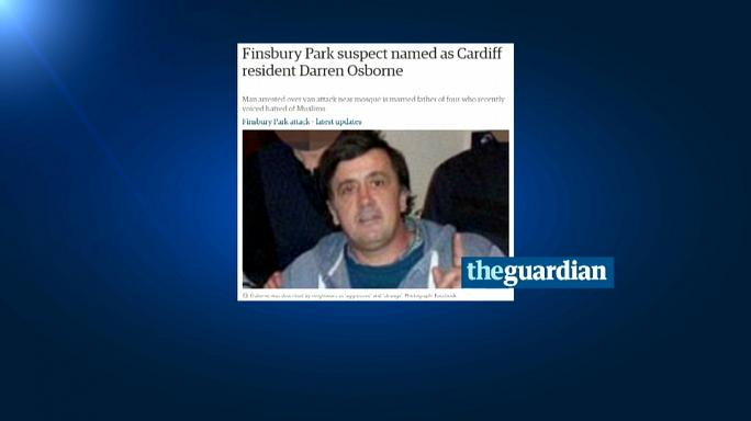 Ataque a muçulmanos em Londres: Detido é um galês de 47 anos com 4 filhos