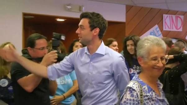 US: most-expensive congressional campaign in history comes to a head in Georgia