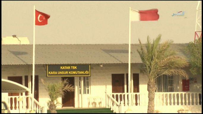 Türk birlikleri Katar'da tatbikata başladı