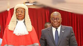 Ghana swears in second successive female Chief Justice
