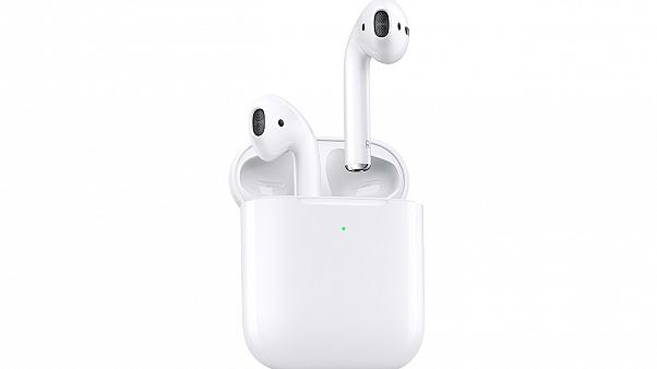 Image: Apple has announced the second generation of the AirPods headphones.