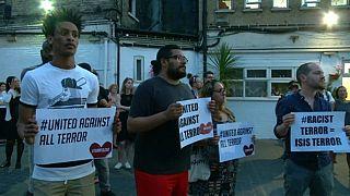 Londres : hommage aux victimes de Finsbury