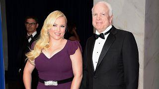 Image: Meghan McCain, John McCain