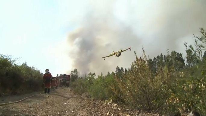Portugal: Protección Civil confirma que ningún avión se ha estrellado luchando contra el incendio