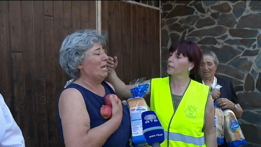 Португалия оплакивает жертв пожаров