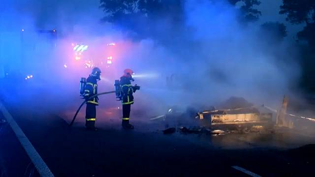 Accidente mortal en Calais