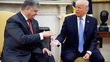 Ukraine-Krise: Poroschenko bei Trump