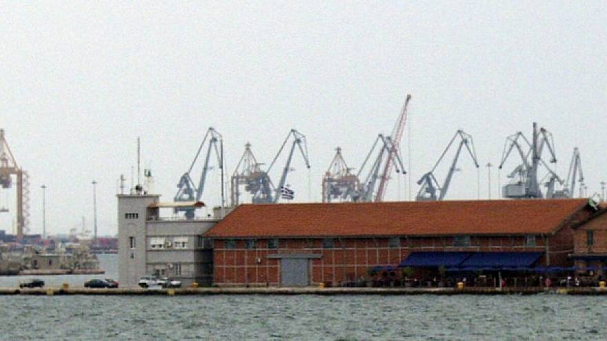 Hafen Thessaloniki privatisiert