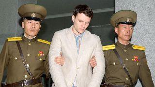آمریکا کره شمالی را مسوول مرگ اتو وارمبیر میداند